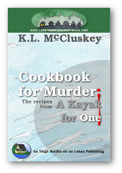 Cookbook for Murder: The Recipes from A Kayak for one ebook cover.